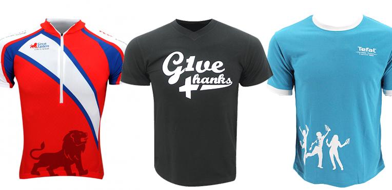 Att använda t-shirt som varumärke